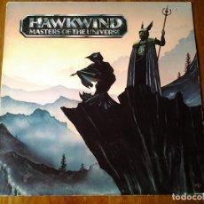 Discos de vinilo: HAWKWIND -MASTERS OF THE UNIVERSE - UNITED ARTISTS RECORDS UAG 30025 ED. ORIGINAL INGLESA. Lote 90424794