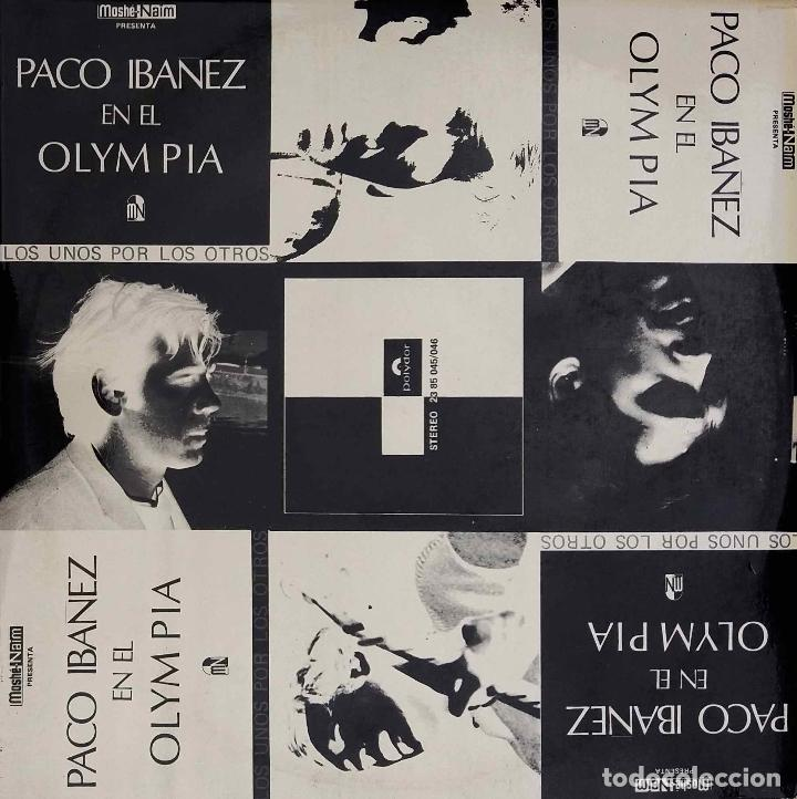Paco Ibáñez En El Olympia Doble Lp Original Es Sold Through Direct Sale 90428729
