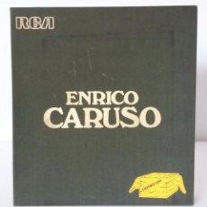 Discos de vinilo: ENRICO CARUSO, 1973, EDICIÓN ESPECIAL POR 100 ANIVERSARIO DE SU NACIMIENTO. IDEAL COLECCIONISTAS. Lote 90437619