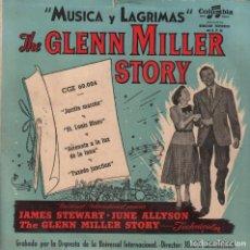 Discos de vinilo: THE GLENN MILLER STORY - MUSICA Y LAGRIMAS / EP COLUMBIA RF-2628. Lote 90440854