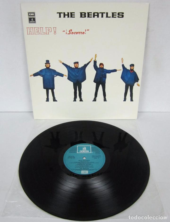 THE BEATLES - HELP / SOCORRO - LP - ODEON 1986 SPAIN 064-1042571 (Música - Discos - LP Vinilo - Pop - Rock Extranjero de los 50 y 60)