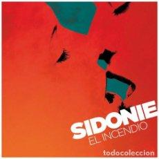 Discos de vinilo: LP SIDONIE EL INCENDIO VINILO ROJO . Lote 103922203