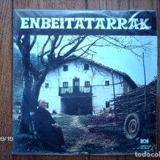 Discos de vinilo: ENBEITATARRAK. Lote 90447739