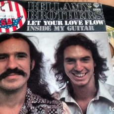 Discos de vinilo: SINGLE (VINILO) DE BELLAMY BROTHERS AÑOS 70. Lote 90448789