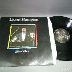 Discos de vinilo: 918- LIONEL HAMPTON - DISCO VINILO LP - PORT VG + DISCO VG ++. Lote 90453169