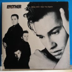 Discos de vinilo: BROTHER BEYOND - WHEN I SEE YOU AGAIN / NEW HEIGHTS - NUEVO. Lote 90453239