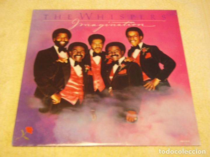 THE WHISPERS ?– IMAGINATION, US 1980 SOLAR (Música - Discos - LP Vinilo - Funk, Soul y Black Music)