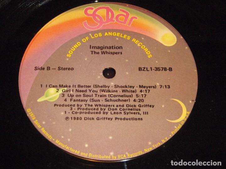 Discos de vinilo: The Whispers ?– Imagination, US 1980 Solar - Foto 5 - 90462804