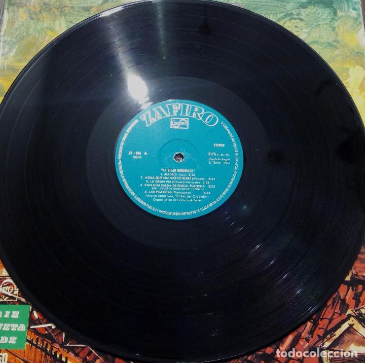 Discos de vinilo: LP EL VIEJO ORGANILLO - SERIE ETIQUETA VERDE - ZAFIRO 1975. - Foto 3 - 90470644