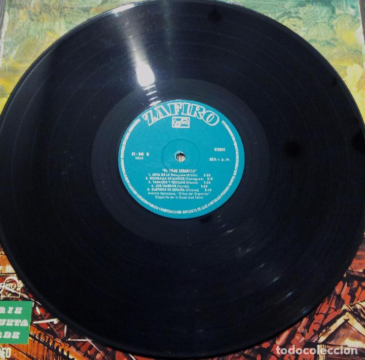 Discos de vinilo: LP EL VIEJO ORGANILLO - SERIE ETIQUETA VERDE - ZAFIRO 1975. - Foto 4 - 90470644