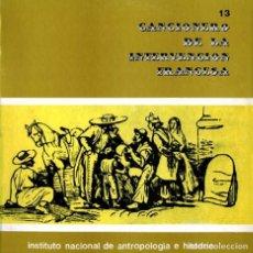 Discos de vinilo: CANCIONERO DE LA INTERVENCIÓN FRANCESA EN MÉXICO - ORIGINAL 1973 - MÉXICO- I.N.A.H.. Lote 90474374