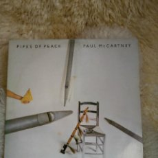 Discos de vinilo: PAUL MCCARTNEY - PIPES OF PEACE - MICHAEL JACKSON - ALBUM. Lote 90521710