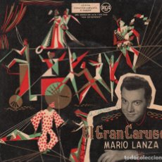 Discos de vinilo: MARIO LANZA - EL GRAN CARUSO / EP RCA RF-2656. Lote 90524390