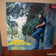 Discos de vinilo: NINO BRAVO - Y VOLUMEN 5 - LP 1973. Lote 90553980