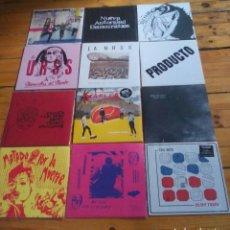 Discos de vinilo: LOTE 21 LP'S PUNK ESPAÑOL. Lote 90555880