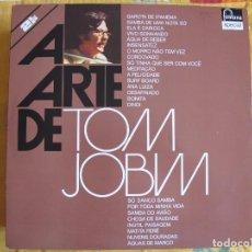 Discos de vinilo: LP - TOM JOBIM - EL ARTE DE TOM JOBIM (DOBLE DISCO, BRASIL, FONTANA 1976). Lote 90558080