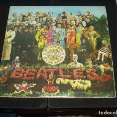 Discos de vinilo: BEATLES LP SERGEANT PEPPER'S LONELY HEARTS CLUB BAND. Lote 90559695
