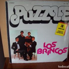 Discos de vinilo: LOS BRINCOS - PUZZLE TRIPLE LP CARPETA ABIERTA 1978. Lote 90561430