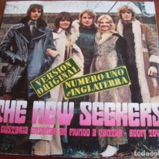 Discos de vinilo: THE NEW SEEKERS - ME GUSTARIA ENSEÑAR AL MUNDO A CANTARPHILIPS AÑO 1972 - SINGLE. Lote 90566935