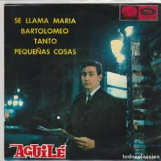 Dischi in vinile: LUIS AGUILE / SE LLAMA MARIA + 3 (EP 1965). Lote 90593250