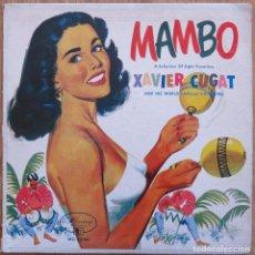 Discos de vinilo: RARE FRENCH 10 P. MAMBO XAVIER CUGAT WORLD FAMOUS ORCHESTRA MERCURY ORQUESTA PEREZ PRADO TITO PUENTE. Lote 90606310