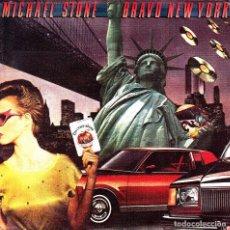 Discos de vinilo: MICHAEL STONE - BRAVO NEW YORK + INSTRUMENTAL SINGLE 1979 SPAIN GOOD CONDITION. Lote 90626490