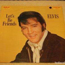 Discos de vinilo: ELVIS PRESLEY - LET'S BE FRIENDS, GERMANY 1970 LP RCA. Lote 183174251