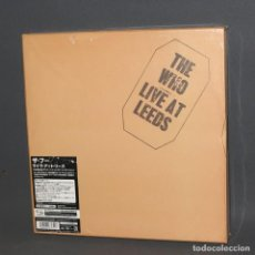 Discos de vinilo: RARO. THE WHO - LIVE AT LEEDS (BOX) LIMITED EDITION 3000 COPIAS EN TODO EL MUNDO.. Lote 90637665