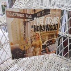 Discos de vinilo: CHET ATKINS– CHET ATKINS IN HOLLYWOOD.LP EDICION USA 1961.SELLO RCA. Lote 90644965