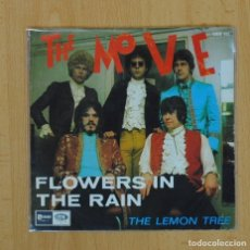 Discos de vinilo: THE MOVE - FLOWERS IN THE RAIN / THE LEMON TREE - SINGLE. Lote 90653504