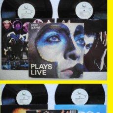 Discos de vinilo: PETER GABRIEL / PLAYS LIVE 1983 !! DOBLE LP !! GENESIS, COMPLETA 1ª EDIC. ORIG. USA !! IMPECABLE !!!. Lote 34689671