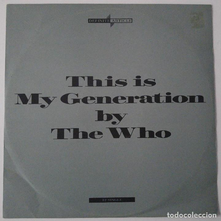 Discos de vinilo: the who..this is. my generation.(Polydor 1988.).uk - Foto 1 - 90653600