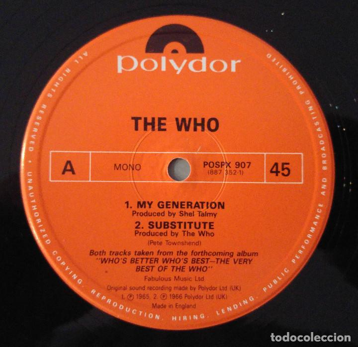 Discos de vinilo: the who..this is. my generation.(Polydor 1988.).uk - Foto 4 - 90653600