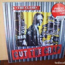 Disques de vinyle: THE CLASH - CUT THE CRAP - LP 1985. Lote 90653975