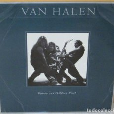 Discos de vinilo: VAN HALEN - WOMEN AND CHILDREN FIRST WB - 1980 CON POSTER Y HOJA PROMO. Lote 90663905