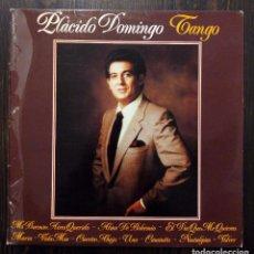 Discos de vinilo: LP PLÁCIDO DOMINGO - TANGO - POLYDOR 1981.. Lote 90664795