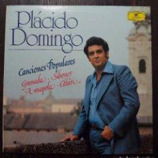 Discos de vinilo: LP PLÁCIDO DOMINGO-CANCIONES POPULARES-SE MI AMOR -1982- EDICIÓN ESPECIAL PARA CÍRCULO DE LECTORES.. Lote 90667855