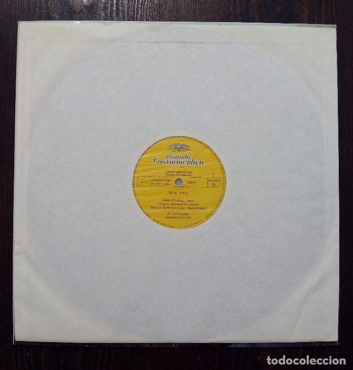 Discos de vinilo: LP PLÁCIDO DOMINGO-CANCIONES POPULARES-SE MI AMOR -1982- EDICIÓN ESPECIAL PARA CÍRCULO DE LECTORES. - Foto 3 - 90667855