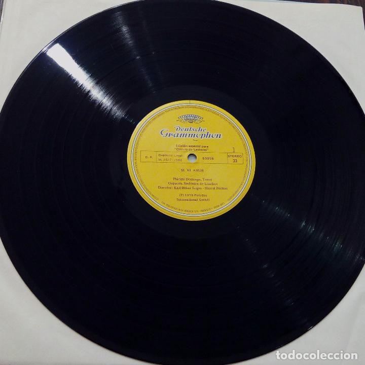 Discos de vinilo: LP PLÁCIDO DOMINGO-CANCIONES POPULARES-SE MI AMOR -1982- EDICIÓN ESPECIAL PARA CÍRCULO DE LECTORES. - Foto 4 - 90667855