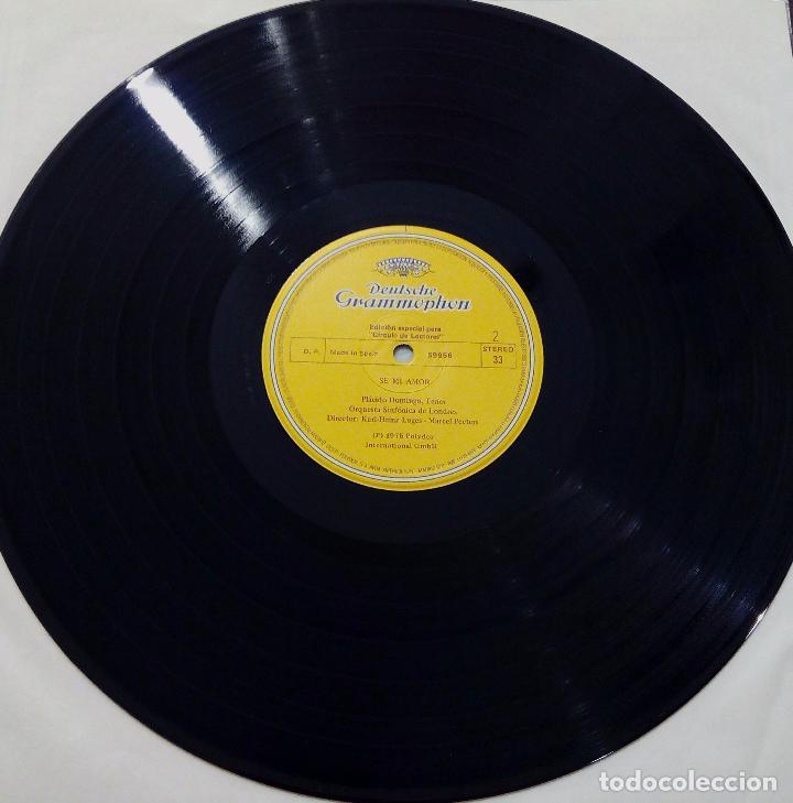 Discos de vinilo: LP PLÁCIDO DOMINGO-CANCIONES POPULARES-SE MI AMOR -1982- EDICIÓN ESPECIAL PARA CÍRCULO DE LECTORES. - Foto 5 - 90667855