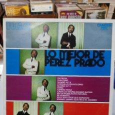 Discos de vinilo: PÉREZ PRADO - LO MEJOR DE PÉREZ PRADO - LP. DEL SELLO RCA DE 1971. Lote 90669860