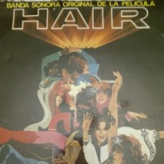 Discos de vinilo: DOBLE DISCO VINILO BSO HAIR. Lote 90683423
