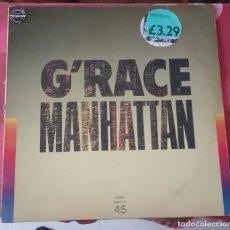 Discos de vinilo: G'RACE - MANHATTAN . Lote 90685140