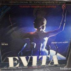 Discos de vinilo: LP - EVITA - EPIC LSP 15141 - 1980. Lote 90687725