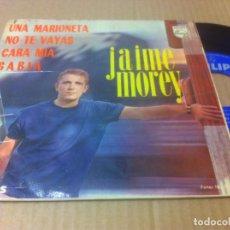 Discos de vinilo: JAIME MOREY EP PHILIPS EDIC ESPAÑA BUENA CONSERVACION. Lote 90700370