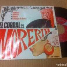 Discos de vinilo: EL CORRAL DE LA MORERIA EP SINTONIA MUY BIEN CONSERVADO. Lote 90713000