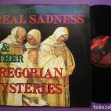 Discos de vinilo: REAL SADNESS & OTHER GREGORIAN MYSTERIES - VV.AA - LP DT ALEMANIA 1990 // AMBIENT SYNTH ELECTRONIC. Lote 90713325