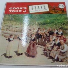 Discos de vinilo: JOSE VALDES Y LOS EMBAJADORES-COOKS TOUR OF-LP -VOX -VX 25140-EDICION USA-17 TEMAS-N. Lote 90713555