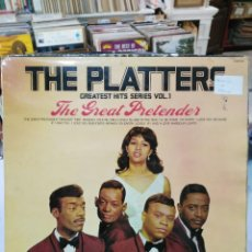 Discos de vinilo: THE PLATTERS - THE GREAT PRETENDER - LP. DEL SELLO HALLMARK RECORDS DE 1966. Lote 90716790