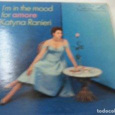 Discos de vinilo: KATYNA RANIERI-I,M IN THE MOOD FOR AMORE-LP-RCA VICTOR-EDICION USA-N. Lote 90717770